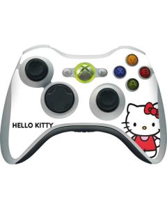Hello Kitty Classic White Xbox 360 Wireless Controller Skin