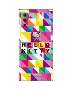 Hello Kitty Color Design Galaxy Note 10 Skin