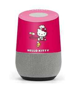 Hello Kitty Cooking Google Home Skin