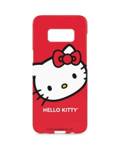 Hello Kitty Cropped Face Red Galaxy S8 Plus Lite Case