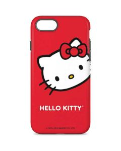 Hello Kitty Cropped Face Red iPhone 7 Pro Case