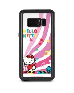 Hello Kitty Dancing Notes Galaxy Note 8 Waterproof Case