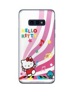 Hello Kitty Dancing Notes Galaxy S10e Skin