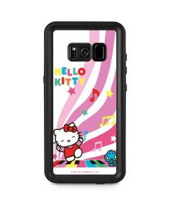 Hello Kitty Dancing Notes Galaxy S8 Plus Waterproof Case