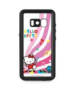 Hello Kitty Dancing Notes Galaxy S8 Waterproof Case