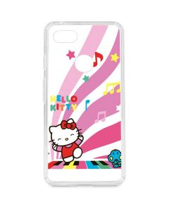 Hello Kitty Dancing Notes Google Pixel 3 XL Clear Case