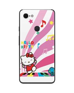 Hello Kitty Dancing Notes Google Pixel 3 XL Skin