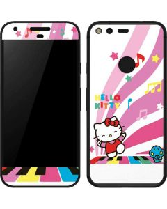 Hello Kitty Dancing Notes Google Pixel Skin