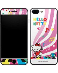 Hello Kitty Dancing Notes iPhone 8 Plus Skin