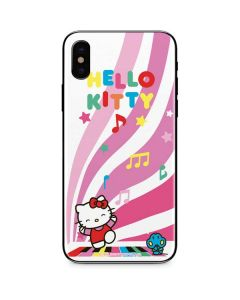 Hello Kitty Dancing Notes iPhone XS Skin