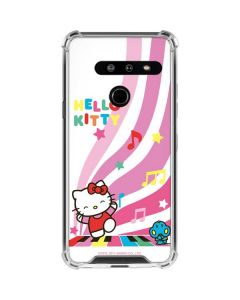 Hello Kitty Dancing Notes LG G8 ThinQ Clear Case