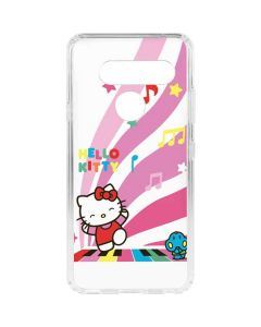 Hello Kitty Dancing Notes LG V40 ThinQ Clear Case