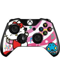 Hello Kitty Dancing Notes Xbox One Controller Skin