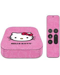 Hello Kitty Face Pink Apple TV Skin