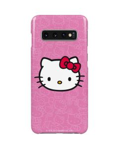 Hello Kitty Face Pink Galaxy S10 Lite Case