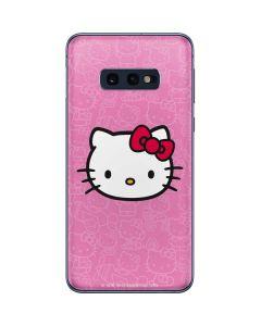 Hello Kitty Face Pink Galaxy S10e Skin