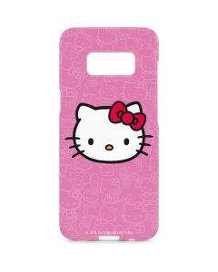 Hello Kitty Face Pink Galaxy S8 Plus Lite Case