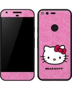 Hello Kitty Face Pink Google Pixel Skin