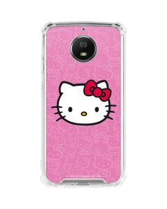 Hello Kitty Face Pink Moto G5S Plus Clear Case