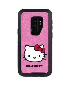 Hello Kitty Face Pink Otterbox Defender Galaxy Skin