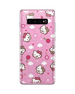 Hello Kitty Lollipop Pattern Galaxy S10 Plus Skin
