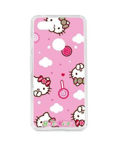 Hello Kitty Lollipop Pattern Google Pixel 3 XL Clear Case