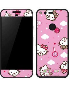 Hello Kitty Lollipop Pattern Google Pixel Skin