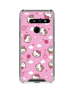 Hello Kitty Lollipop Pattern LG G8 ThinQ Clear Case