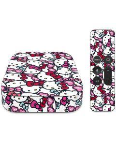 Hello Kitty Multiple Bows Apple TV Skin