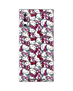 Hello Kitty Multiple Bows Galaxy Note 10 Skin