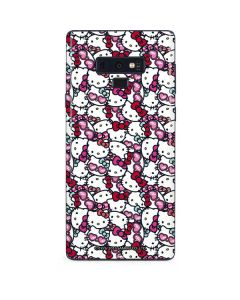 Hello Kitty Multiple Bows Galaxy Note 9 Skin