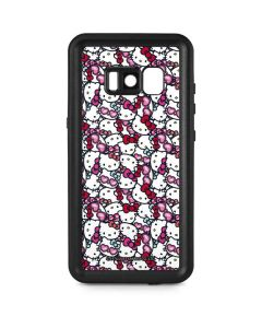 Hello Kitty Multiple Bows Galaxy S8 Plus Waterproof Case