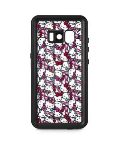 Hello Kitty Multiple Bows Galaxy S8 Waterproof Case