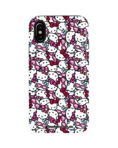 Hello Kitty Multiple Bows iPhone XS Pro Case