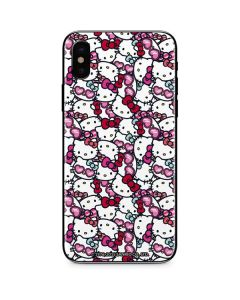 Hello Kitty Multiple Bows iPhone XS Skin
