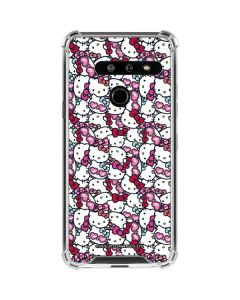 Hello Kitty Multiple Bows LG G8 ThinQ Clear Case