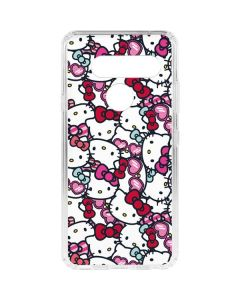 Hello Kitty Multiple Bows LG V40 ThinQ Clear Case