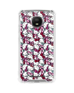 Hello Kitty Multiple Bows Moto G5S Plus Clear Case