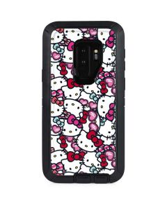 Hello Kitty Multiple Bows Otterbox Defender Galaxy Skin