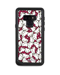 Hello Kitty Multiple Bows Pink Galaxy Note 9 Waterproof Case