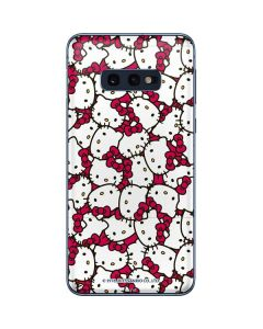 Hello Kitty Multiple Bows Pink Galaxy S10e Skin