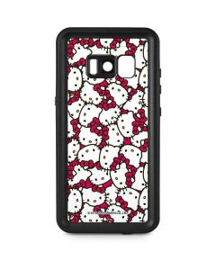 Hello Kitty Multiple Bows Pink Galaxy S8 Plus Waterproof Case