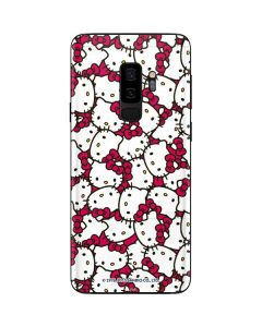 Hello Kitty Multiple Bows Pink Galaxy S9 Plus Skin