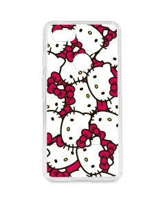 Hello Kitty Multiple Bows Pink Google Pixel 3 XL Clear Case
