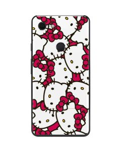 Hello Kitty Multiple Bows Pink Google Pixel 3 XL Skin