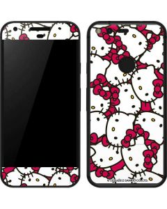 Hello Kitty Multiple Bows Pink Google Pixel Skin