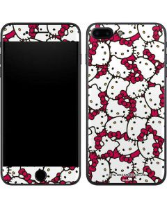 Hello Kitty Multiple Bows Pink iPhone 8 Plus Skin