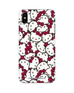 Hello Kitty Multiple Bows Pink iPhone X Lite Case