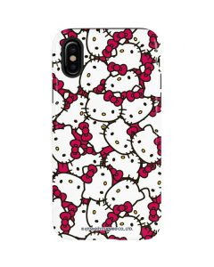 Hello Kitty Multiple Bows Pink iPhone XS Pro Case