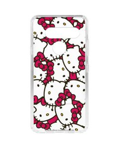 Hello Kitty Multiple Bows Pink LG V40 ThinQ Clear Case
